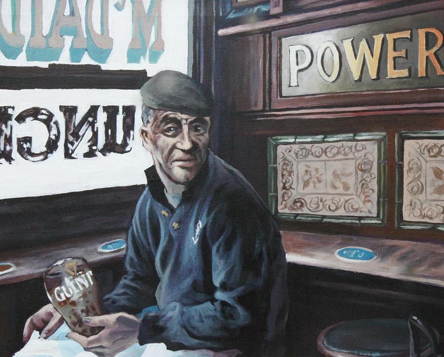 Irish Pub Painting - Wheres My Pint by Michael Geoghegan