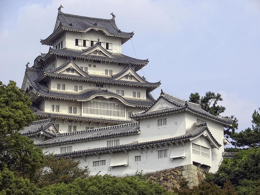 White Heron Castle - Himeji City Japan Photograph