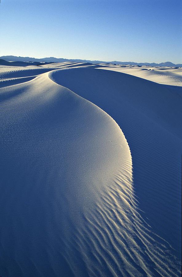 White Sands National Monument Photograph - White Sands National Monument by Dawn Kish
