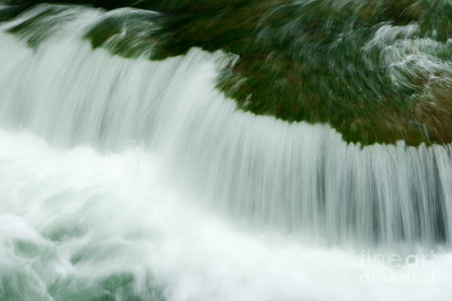 Water Photograph - White Threads by Hideaki Sakurai