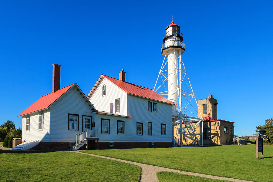 Whitefish point light station photograph by rachel cohen for White fish point