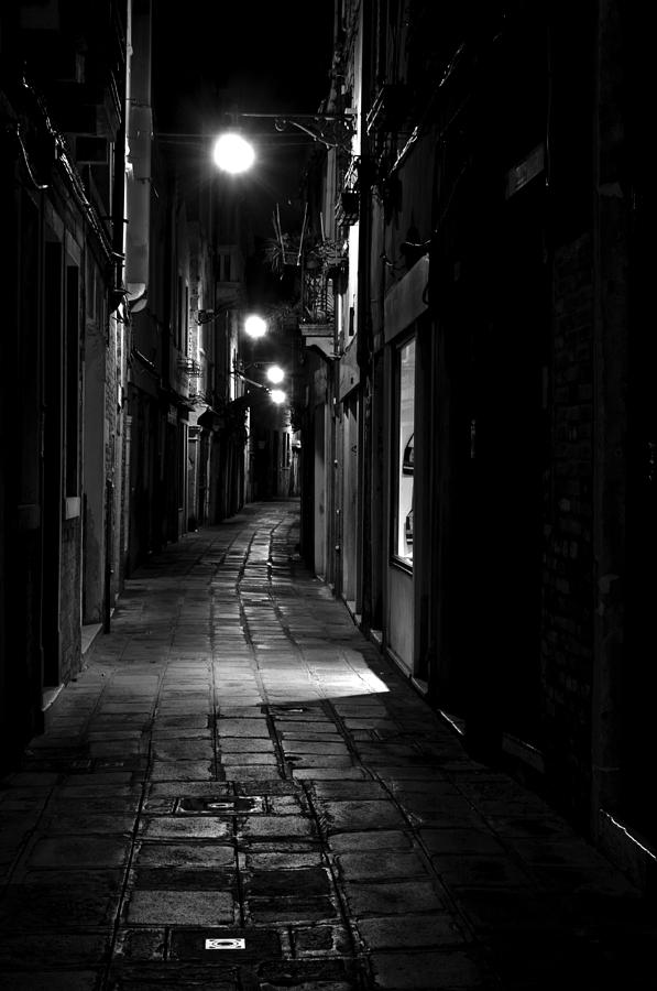 Venice Photograph - Who Goes There by Marion Galt