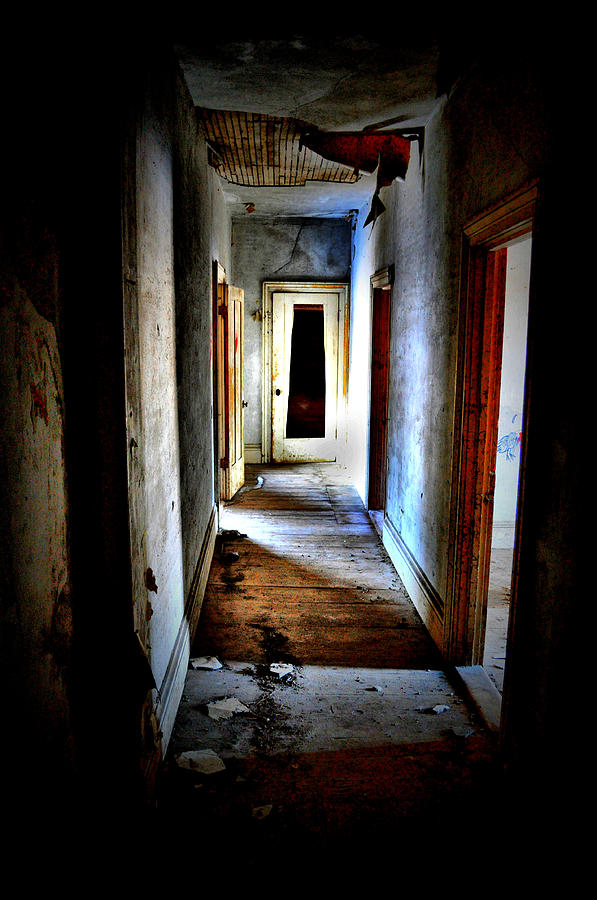 House Photograph - Who Walked The Halls by Emily Stauring