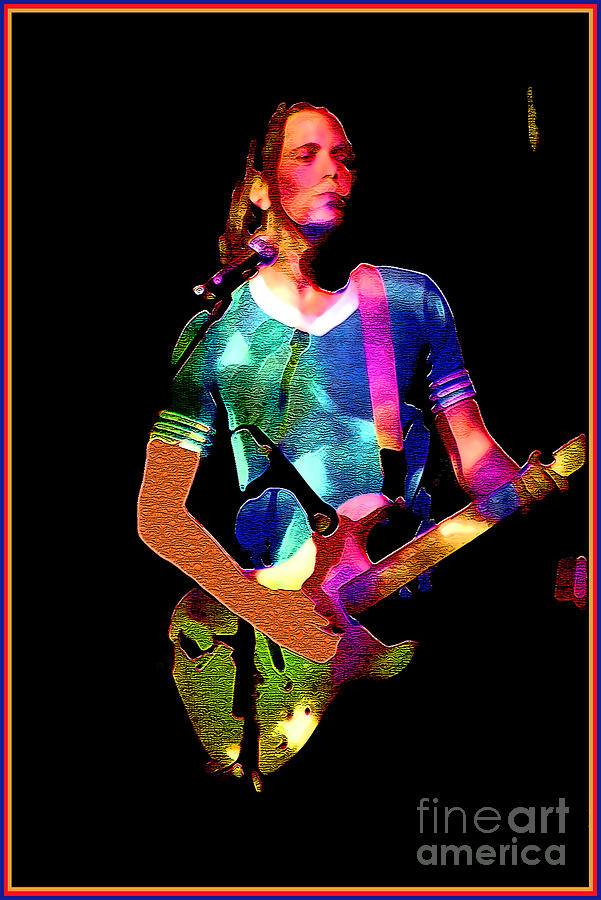 Music Photograph - Wild Rock n Roll by Linda  Parker