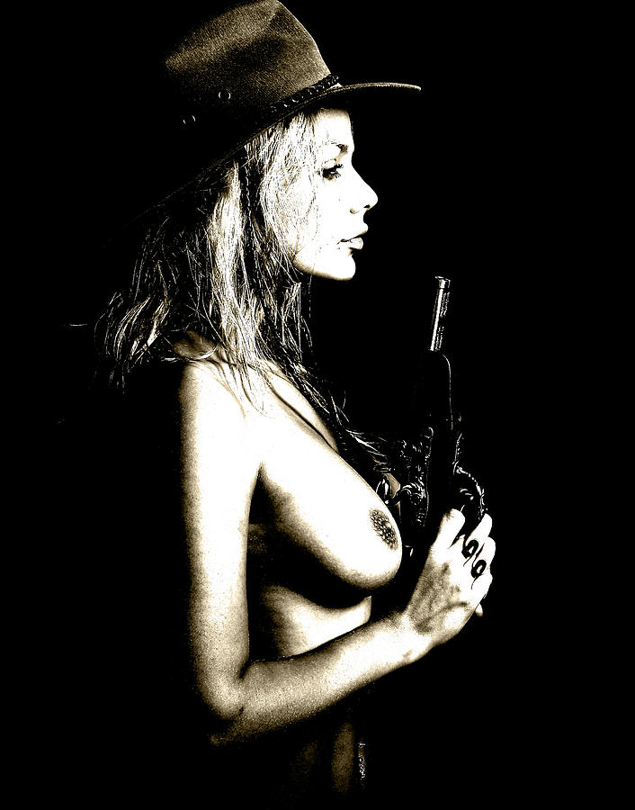 Naked  Photograph - Wild West  by Naman Imagery