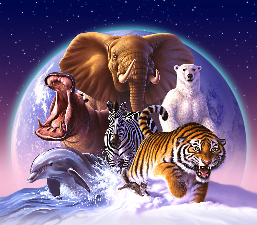 Wild World Painting