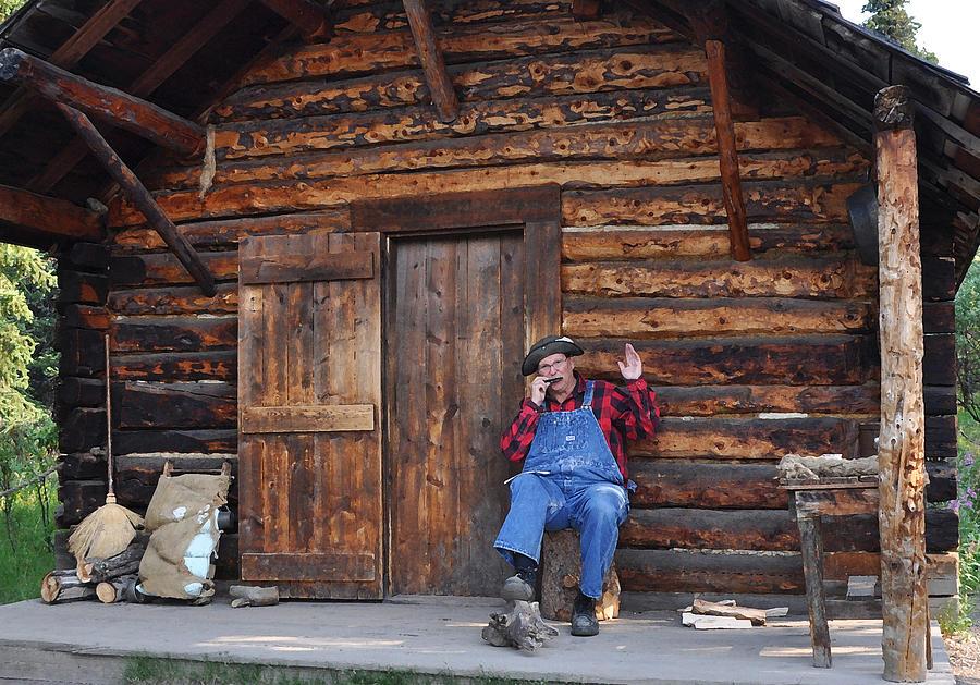 Wilderness Photograph - Wilderness Cabin Alaska by Jennifer Crites