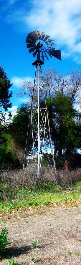 Windmill Panorama Photograph
