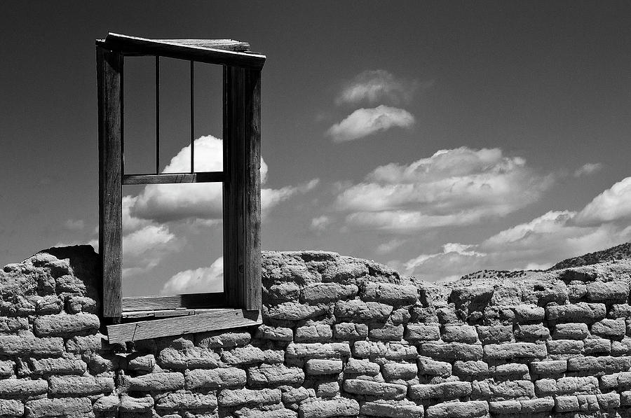 Ruins Photograph - Window View by Carolyn Dalessandro