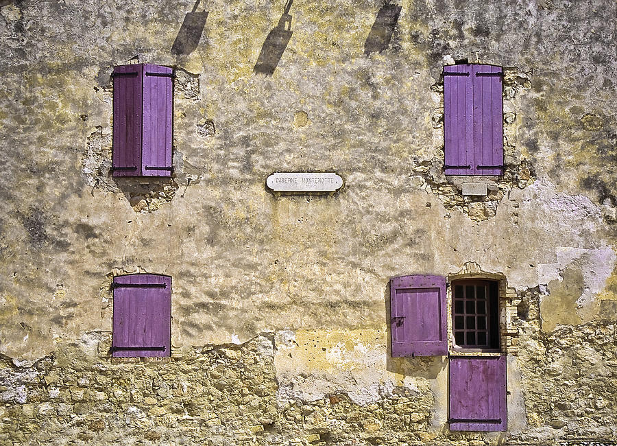 Cannes Photograph - Windows And Doors 4 by Mark Coran
