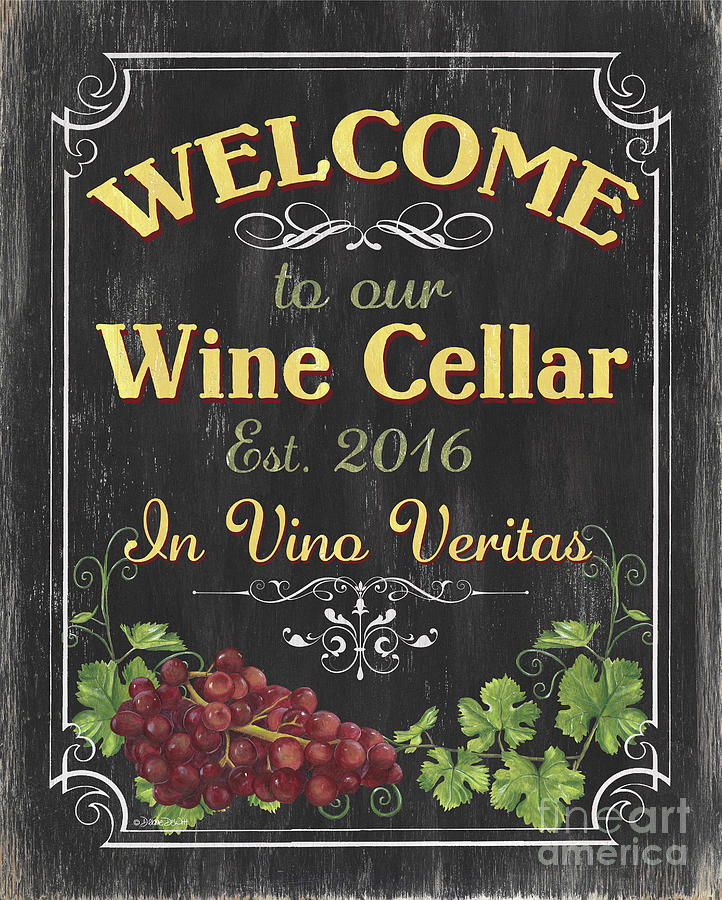 Wine Cellar Sign 1 Painting