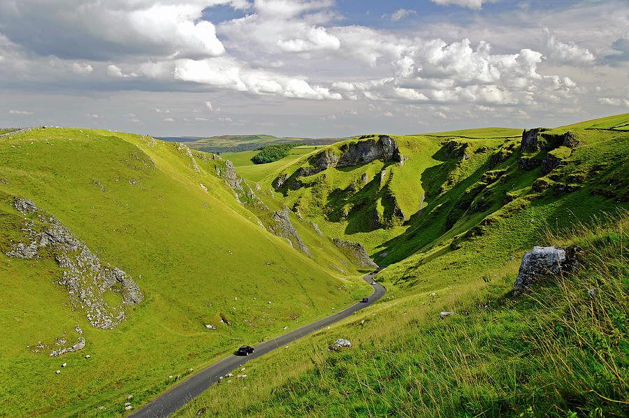 Winnats Pass Near Castleton Photograph