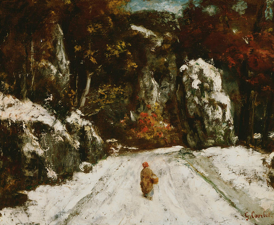 Courbet Paintings Images