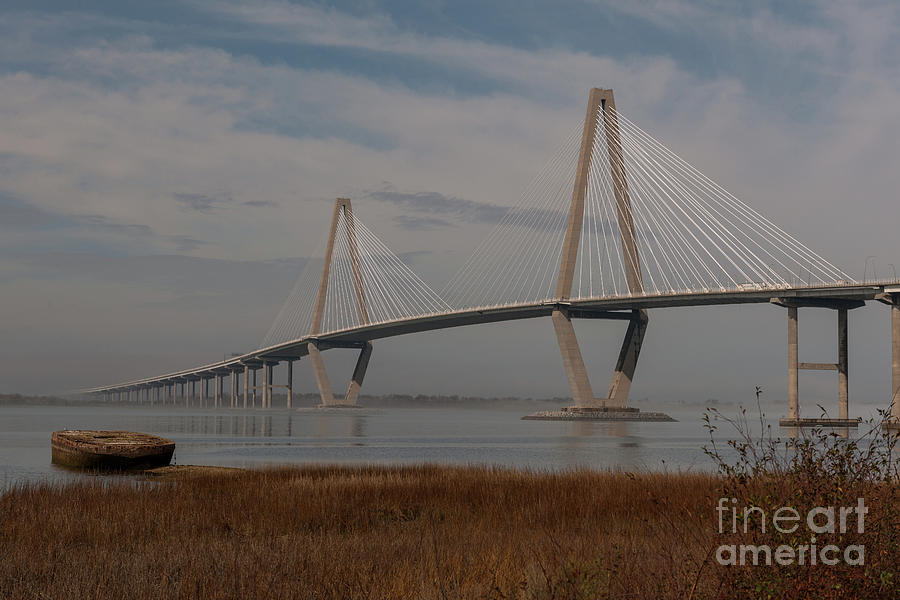 Winter Morning Lowcountry Fog Photograph
