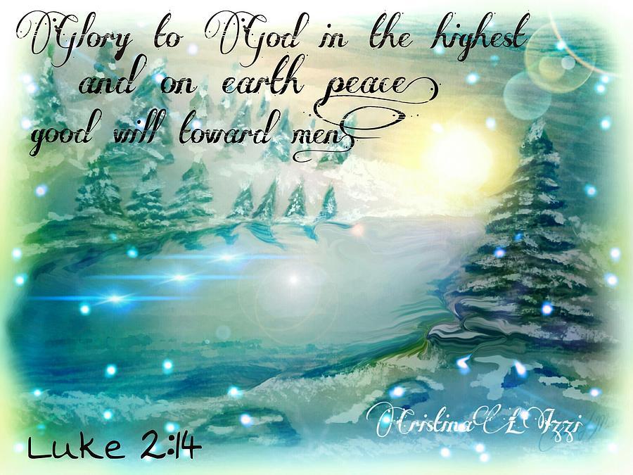 Winter peace by cristina izzi