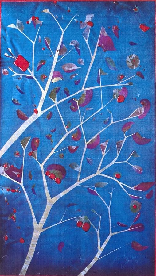 Winter Painting - Winter Tree by Rick Silas