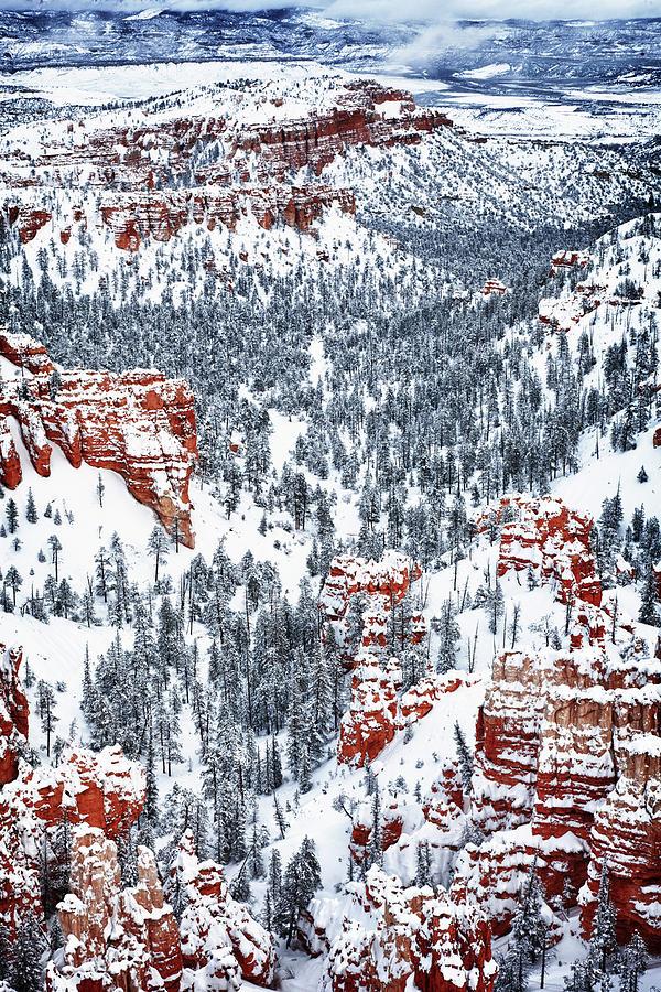 Utah Photograph - Winter Wonder by James Marvin Phelps