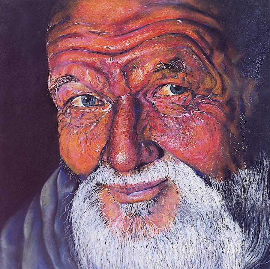 Art Pastel - Wisdom by Curtis James