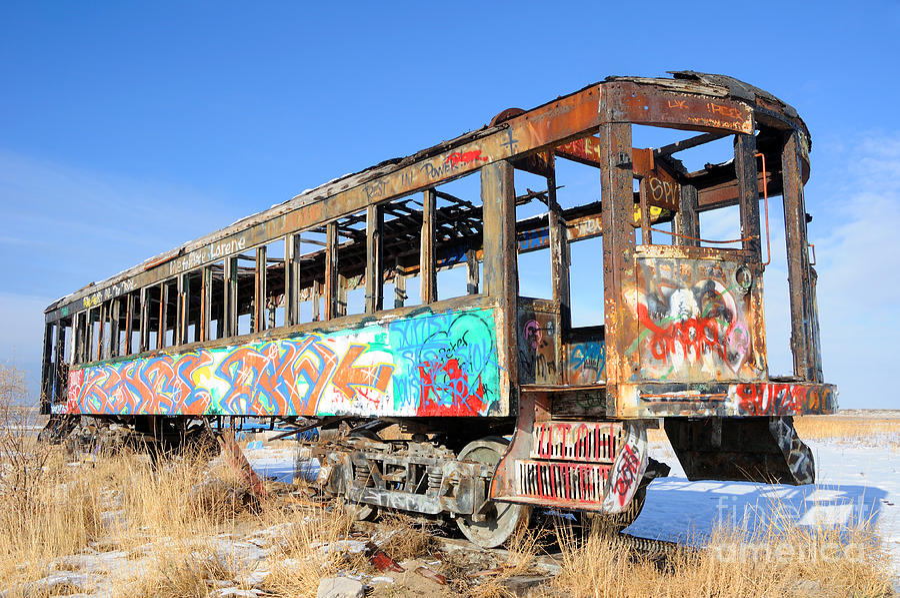 Graffiti Photograph - Wishing For Better Days by Gary Whitton