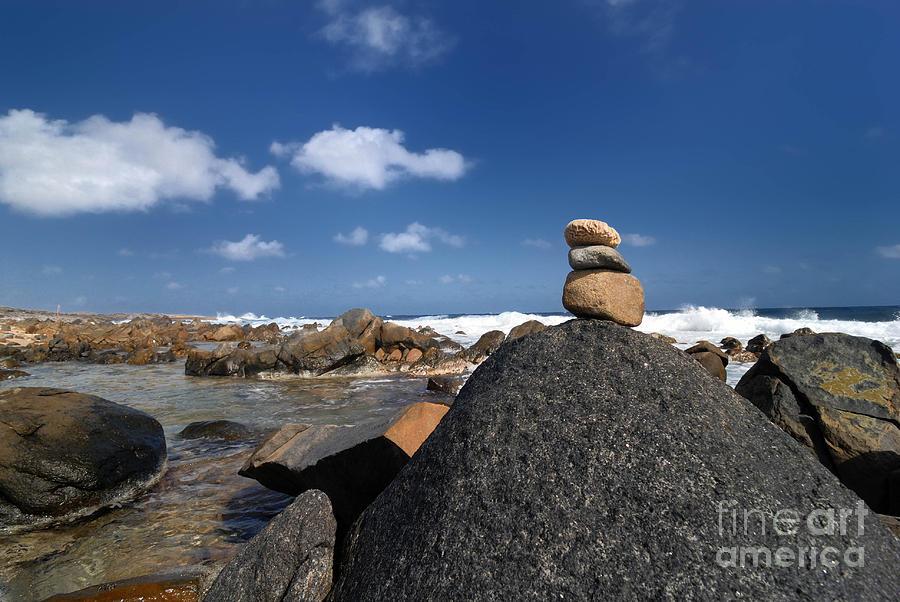 Aruba Photograph - Wishing Rocks Aruba by Amy Cicconi