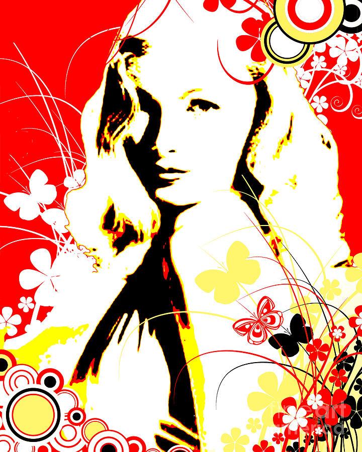 Nostalgic Seduction Digital Art - Wistful Flutter by Chris Andruskiewicz