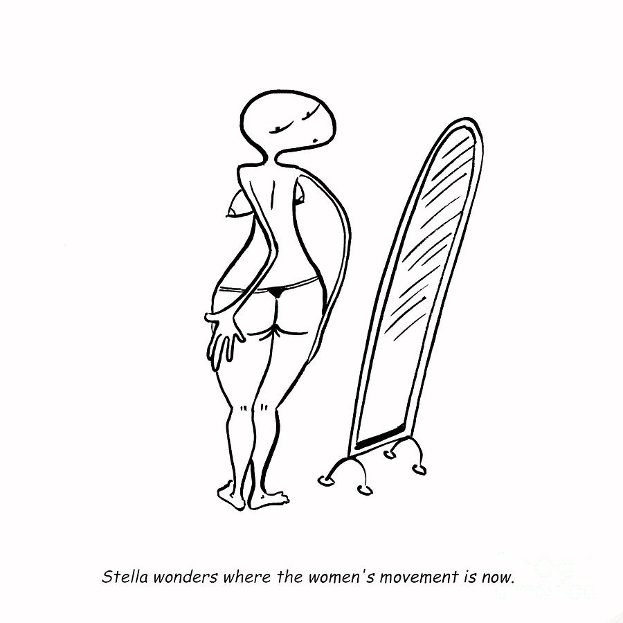Stella Drawing - Womens Movement by Leanne Wilkes