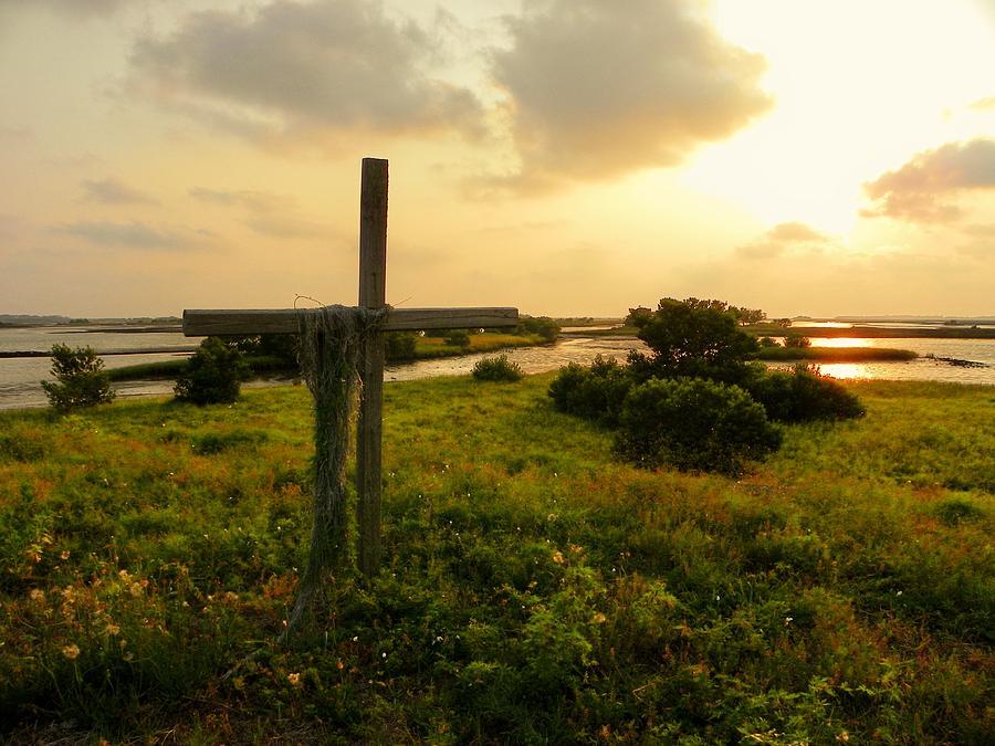 Wooden Cross Photograph - Wooden Cross 2 by Sheri McLeroy