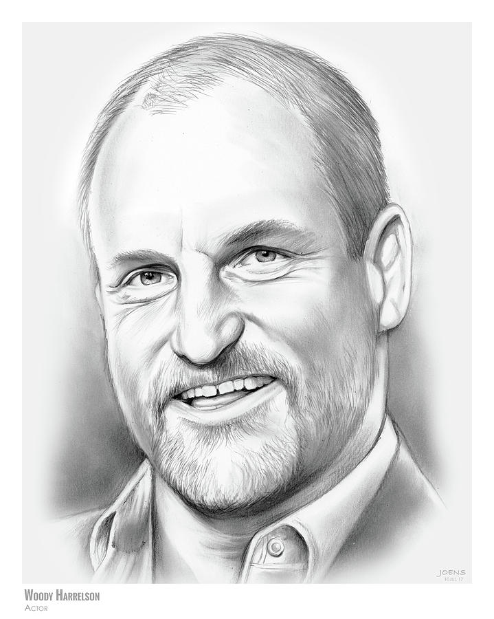 Woody Harrelson Drawing