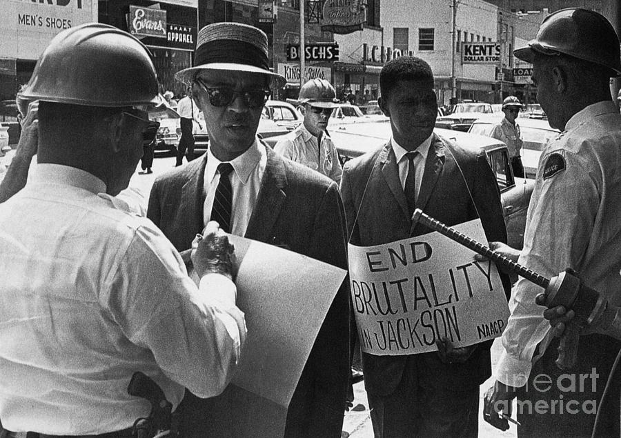 Woolworths Protest, 1963 Photograph by Granger