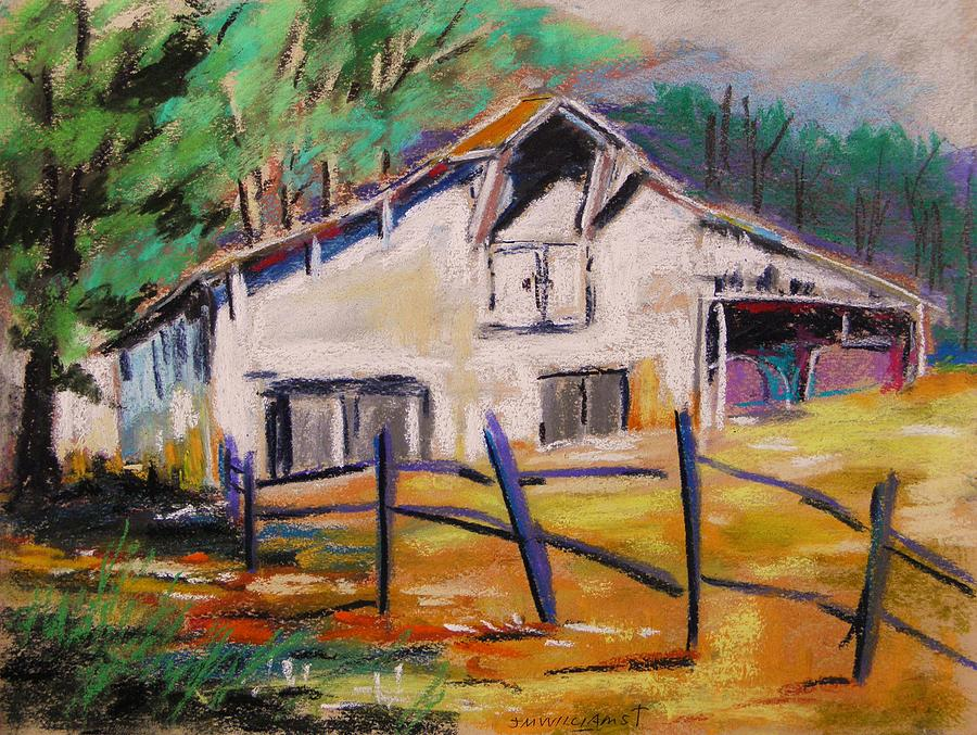 Barn Painting - Working And Stately by John Williams