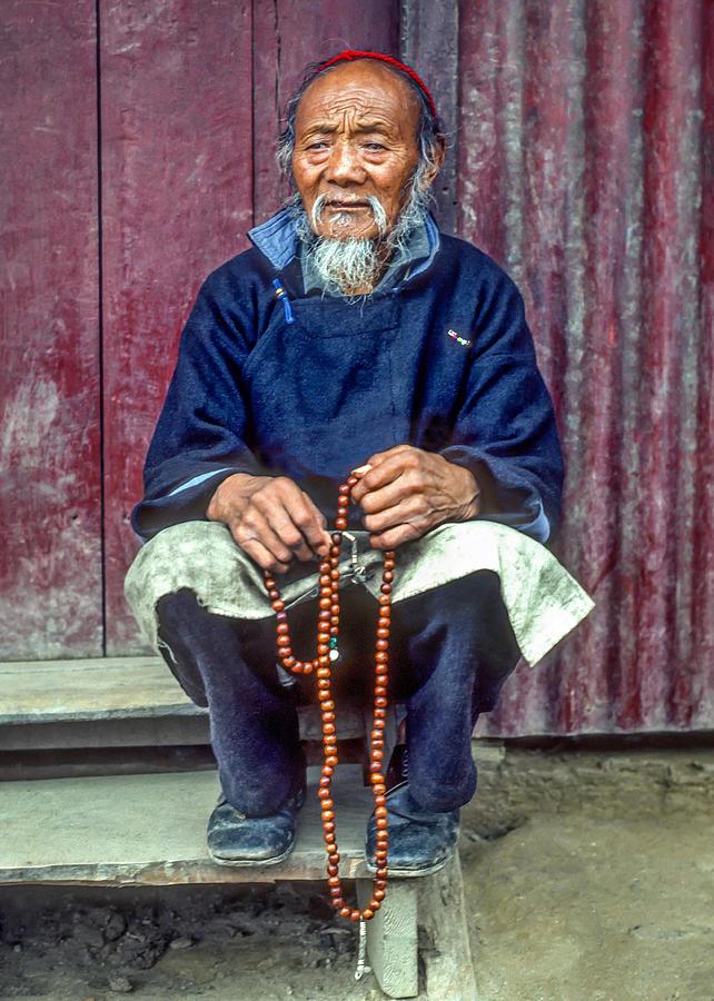 Tibetan Photograph - Working Hands by Steve Harrington