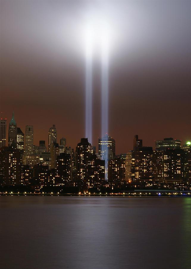 World Trade Center Tribute In Light Photograph