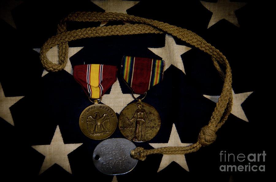 World War II Medals Photograph