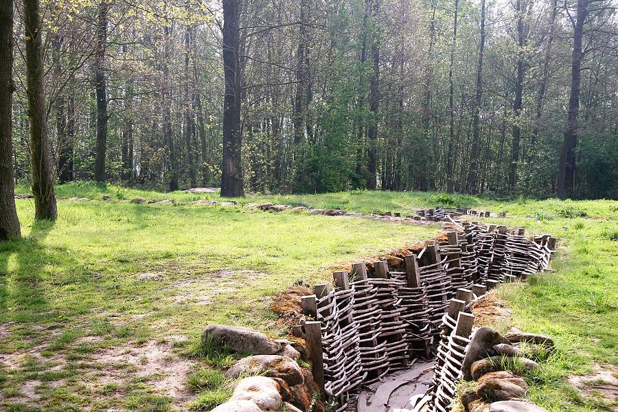 World War One Trenches Photograph