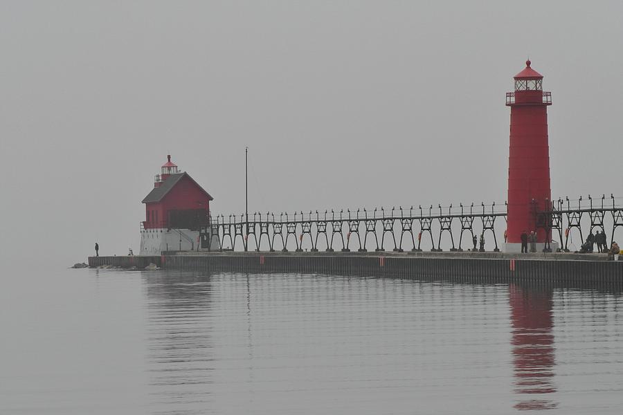 Lighthouse Photograph - Worlds End by Odd Jeppesen