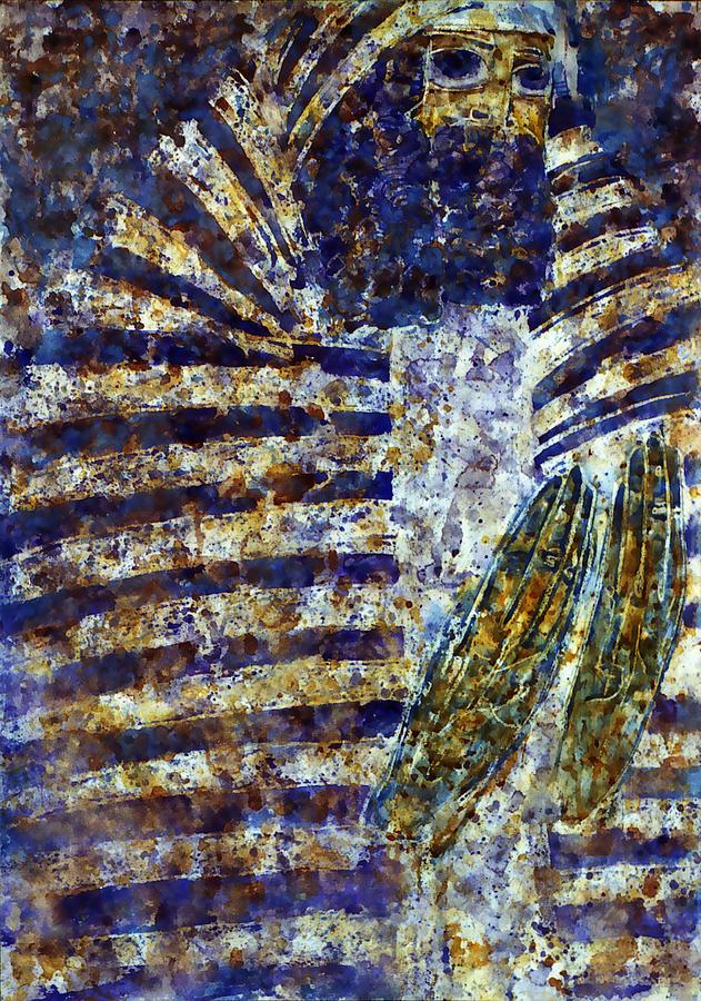 Altar Painting - Worship A by Valeriy Mavlo