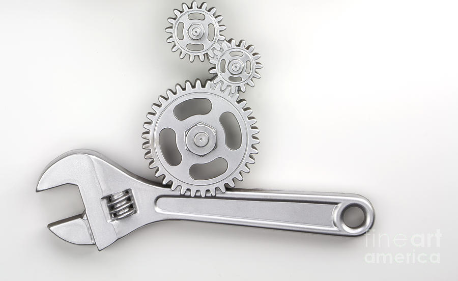 Wrench Photograph - Wrench by Blink Images