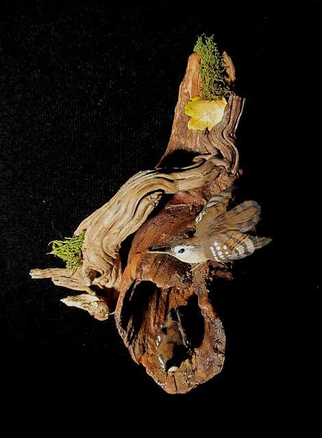 Birds Sculpture - Wrens by Donna Genovese