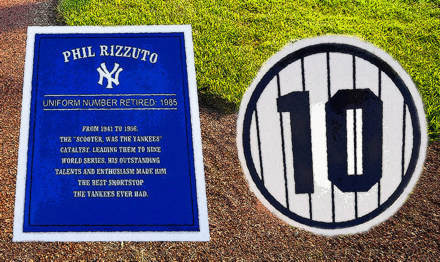 Yankee Legends Number 10 Painting