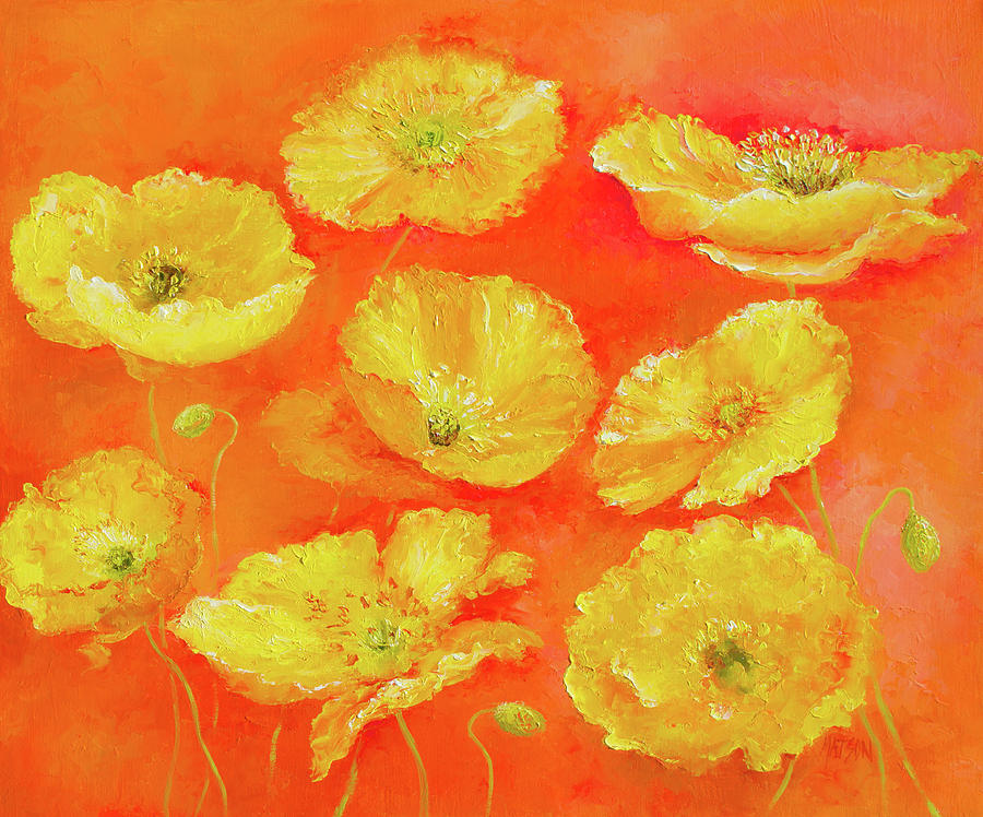Yellow Poppies by Jan Matson - Royalty Free and Rights ...