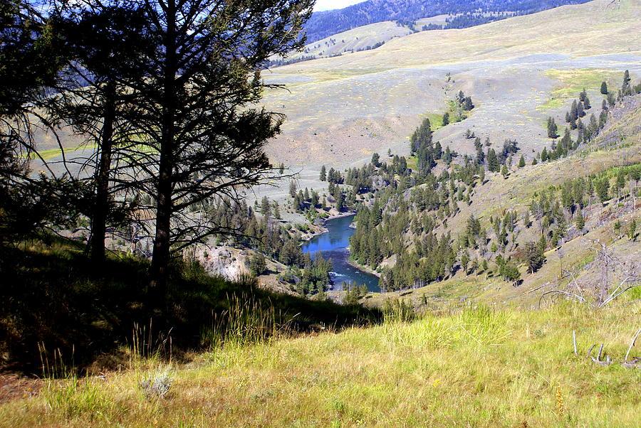 Yellowstone River Vista Photograph