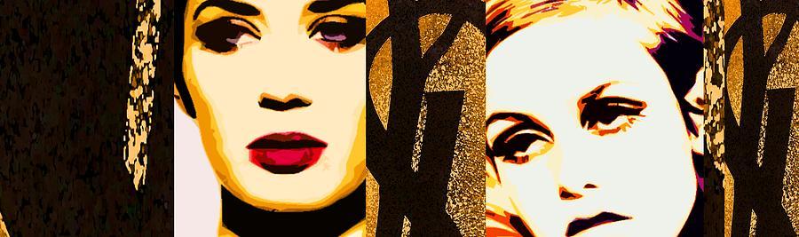 Designer Fashion Painting - Yls Retrospective  by Lelia DeMello