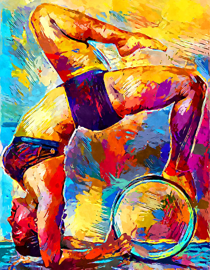 Yoga 2 Painting