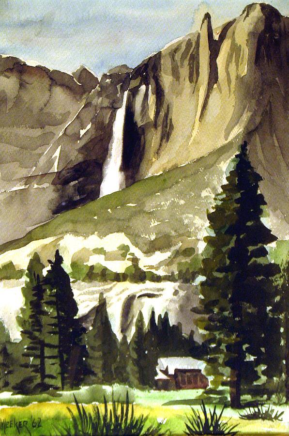 Watercolor Painting - Yosemite IIi by Bill Meeker