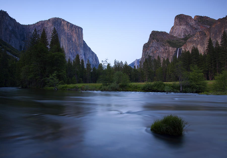 Yosemite Photograph - Yosemite Twilight by Mike  Dawson