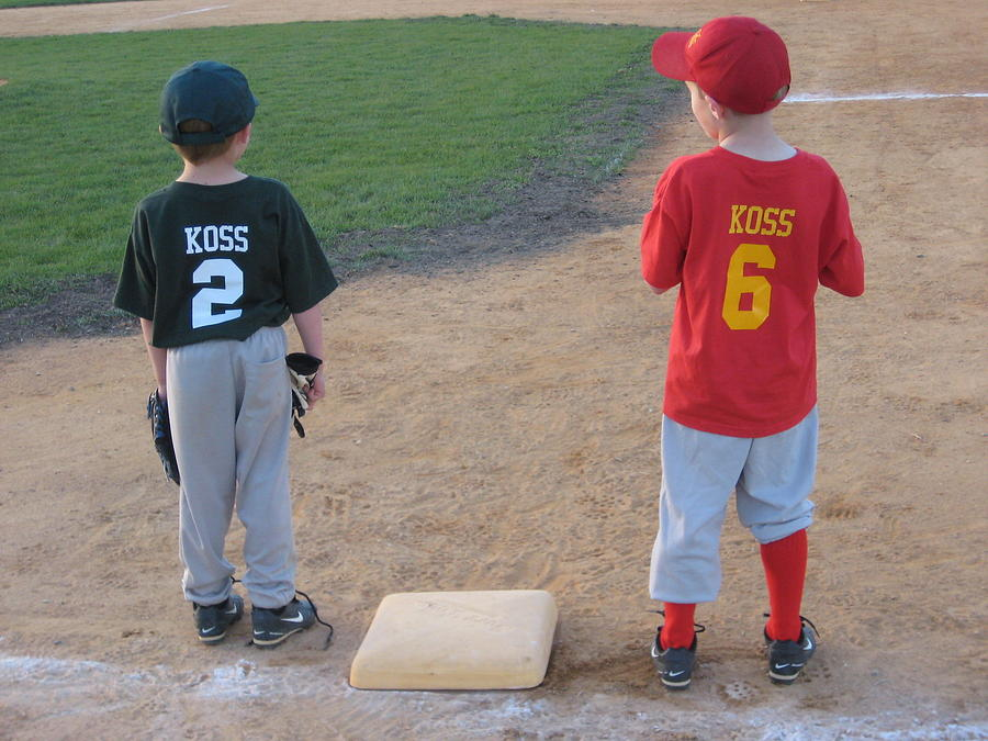 Little League Photograph - You Were Out. by Jeffrey Koss
