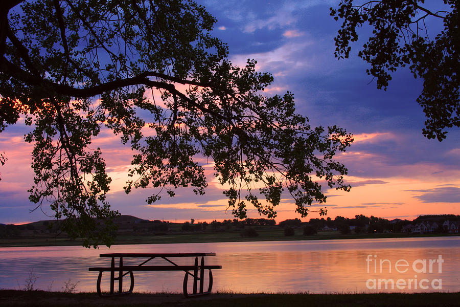 Sunsets Photograph - Your Table Is Ready by James BO  Insogna