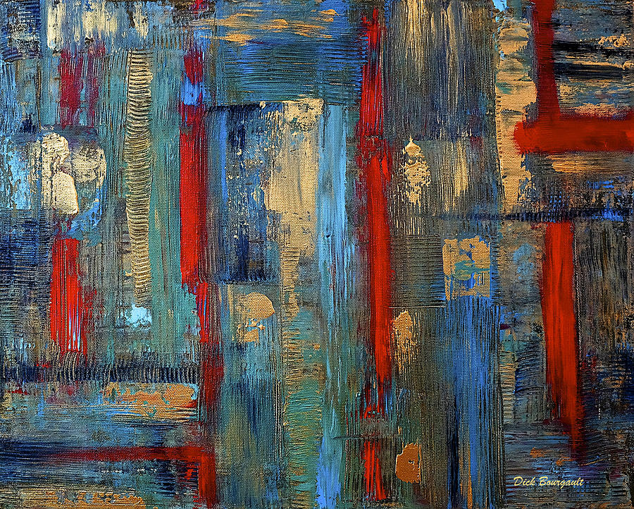 Zen Painting by Dick Bourgault