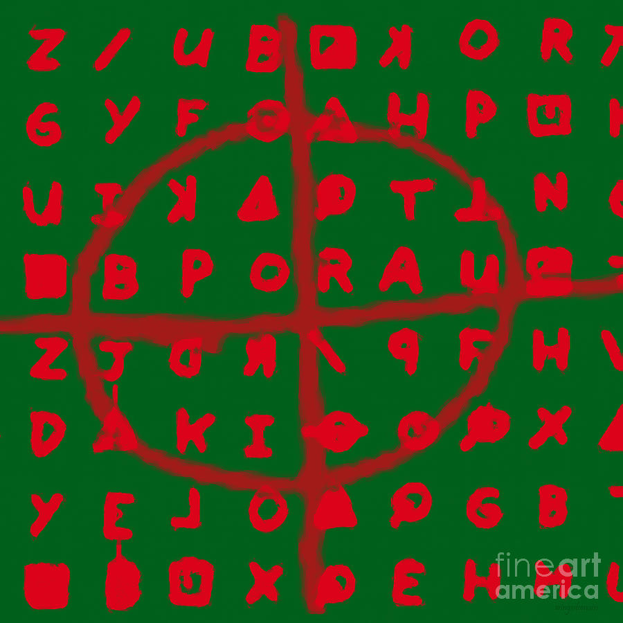 Zodiac Photograph - Zodiac Killer Code And Sign 20130213 by Wingsdomain Art and Photography