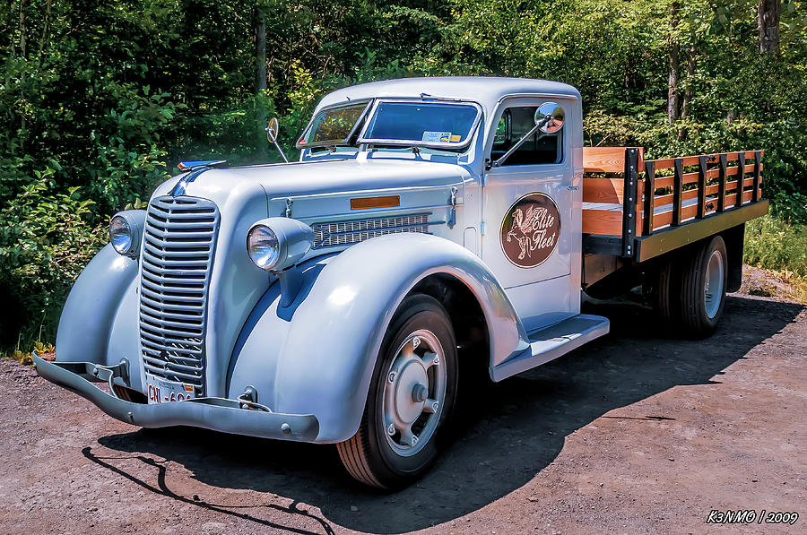 1938 Diamond T Stakebed Truck Photograph